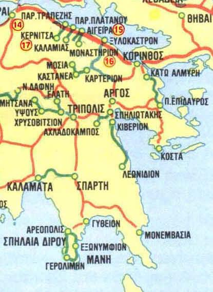 Visit Greece Peloponnhsos